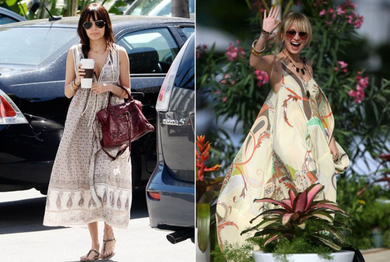 Celebrity Vacation Street Style Celebrities On Vacation