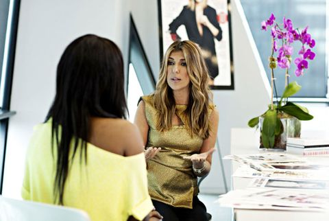 nina garcia and kimberly goldson
