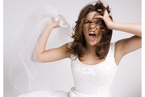 Mouth, Hairstyle, Skin, Shoulder, Elbow, Joint, Happy, Jaw, Bride, Neck,