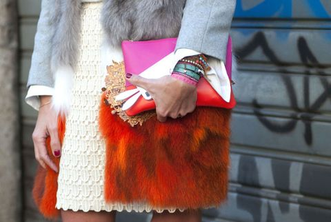 Milan Fashion Week Street Style F/W 2012, Day 5