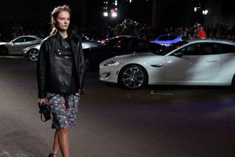 Cars at Fashion Week