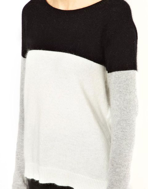 Product, Sleeve, Shoulder, Textile, White, Style, Sweater, Neck, Black, Grey,
