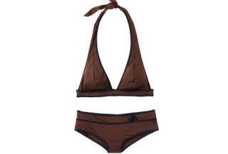 brown bikini