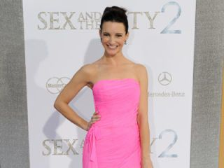 kristin davis at sex and the city sequel premiere