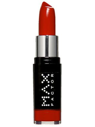 max factor red lipstick