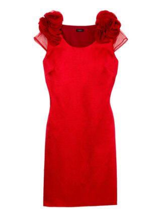 red ann taylor dress