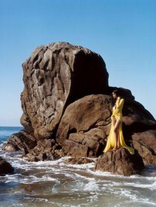 glamorous beachwear