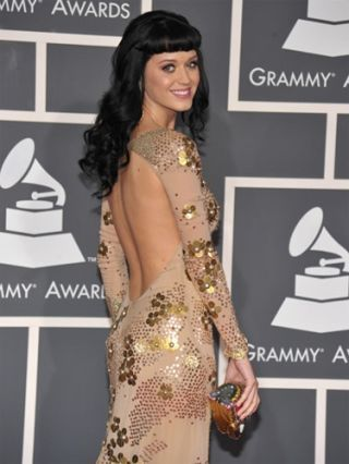 katy perry at 2010 grammys