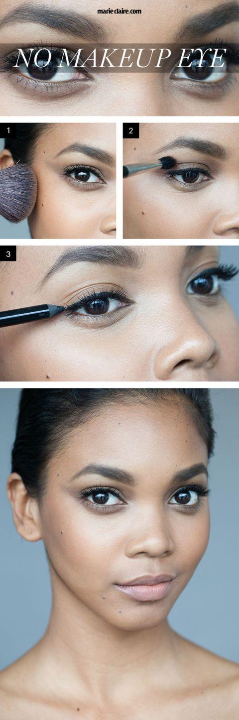 No Makeup Makeup Tutorial Natural Looking Eye Makeup