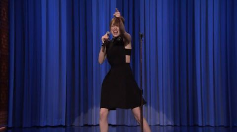 Emma Stone Is Our Lip Sync Hero