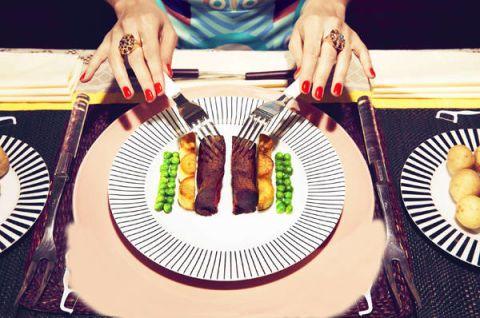 Food, Dishware, Cuisine, Plate, Tableware, Dish, Finger food, Fork, Meal, Recipe,