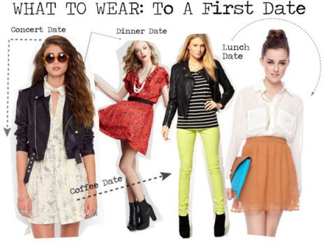 Things to wear on a first date