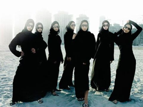 seven models in dubai