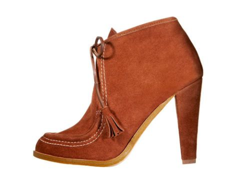 brown colin stuart for victorias secret booties