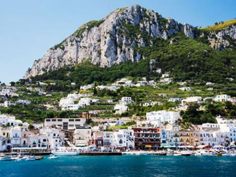 capri coast line