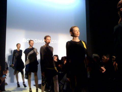 behind the scenes at bcbg max azria at new york fashion week 2010