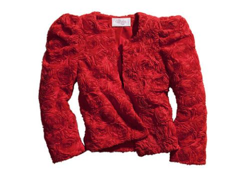red jacket from h and m