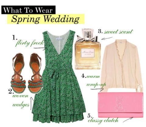 Spring Wedding Outfit - What to Wear to a Spring Wedding