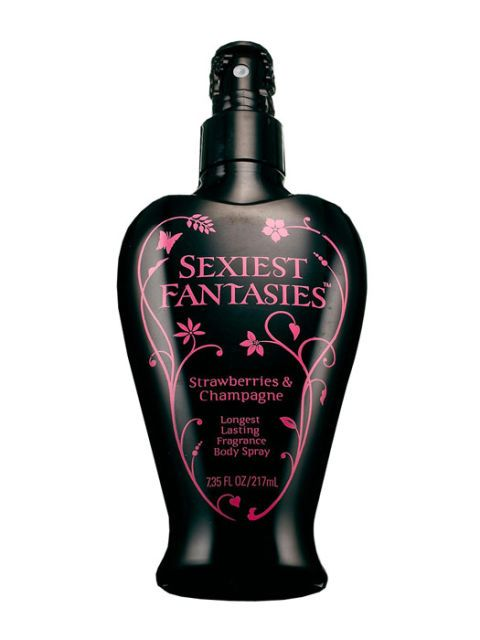 sexiest fantasies body spray