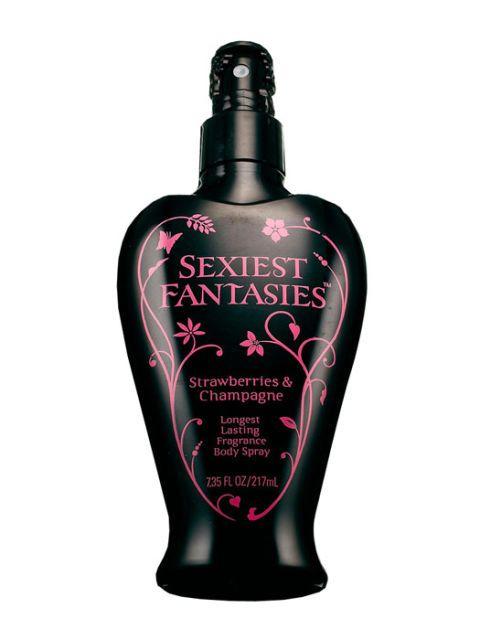 sexiest fantasies body spray