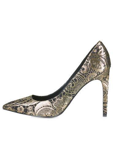 Basic pump, High heels, Beige, Metal, Tan, Bridal shoe, Court shoe, Sandal, Fashion design, Silver,