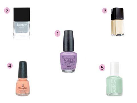 Best Pastel Nail Polish - Best Spring Nail Colors