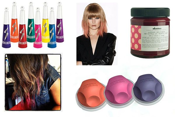 Bright Hair Dye - Best Temporary Colorful Dyes