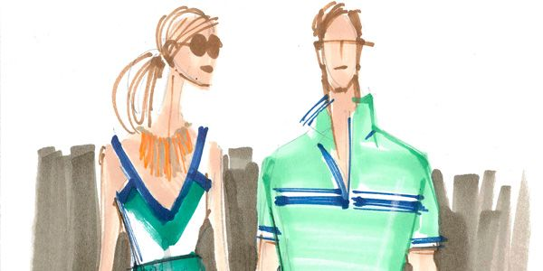Latest Collaboration Pairs Banana Republic with Milly