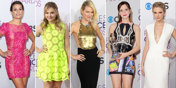 Best Dressed Stars at the People's Choice Awards