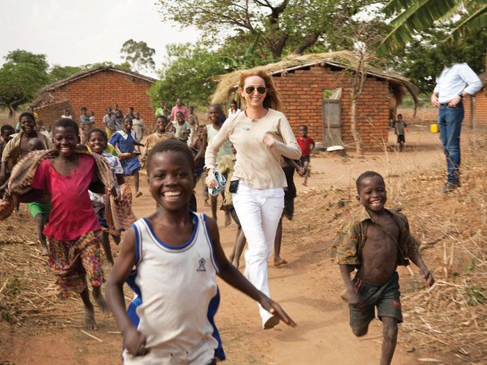 frida giannini in africa