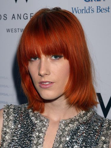 Copper Red Hair Color Looks The Best When Combined With Natural Such As Dark Medium And Brown
