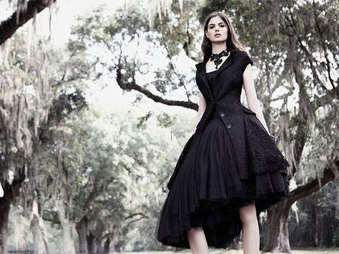 lacy and romantic designer fashion