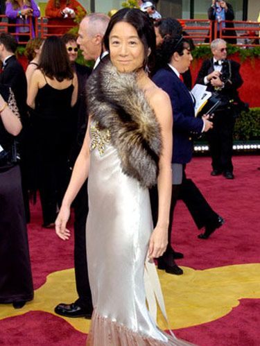vera wang on the red carpet