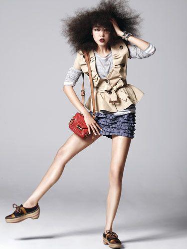 frilly fashion