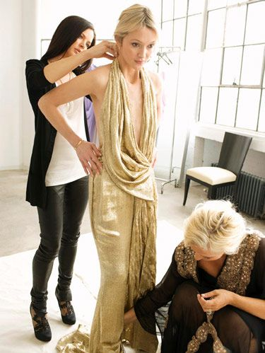 gold marchesa gown