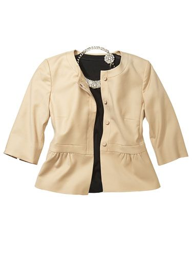 j crew blazer gap shirt rada necklace