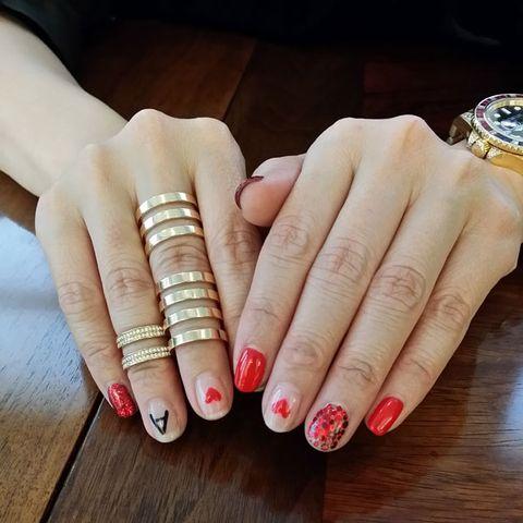 Sacai Designer Chitose Abes Amazing Nails For New York Beauty News