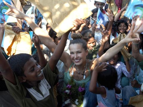 the happy hearts fund with petra nemcova