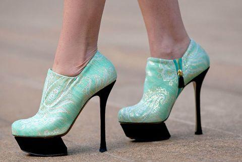 Artistic heels