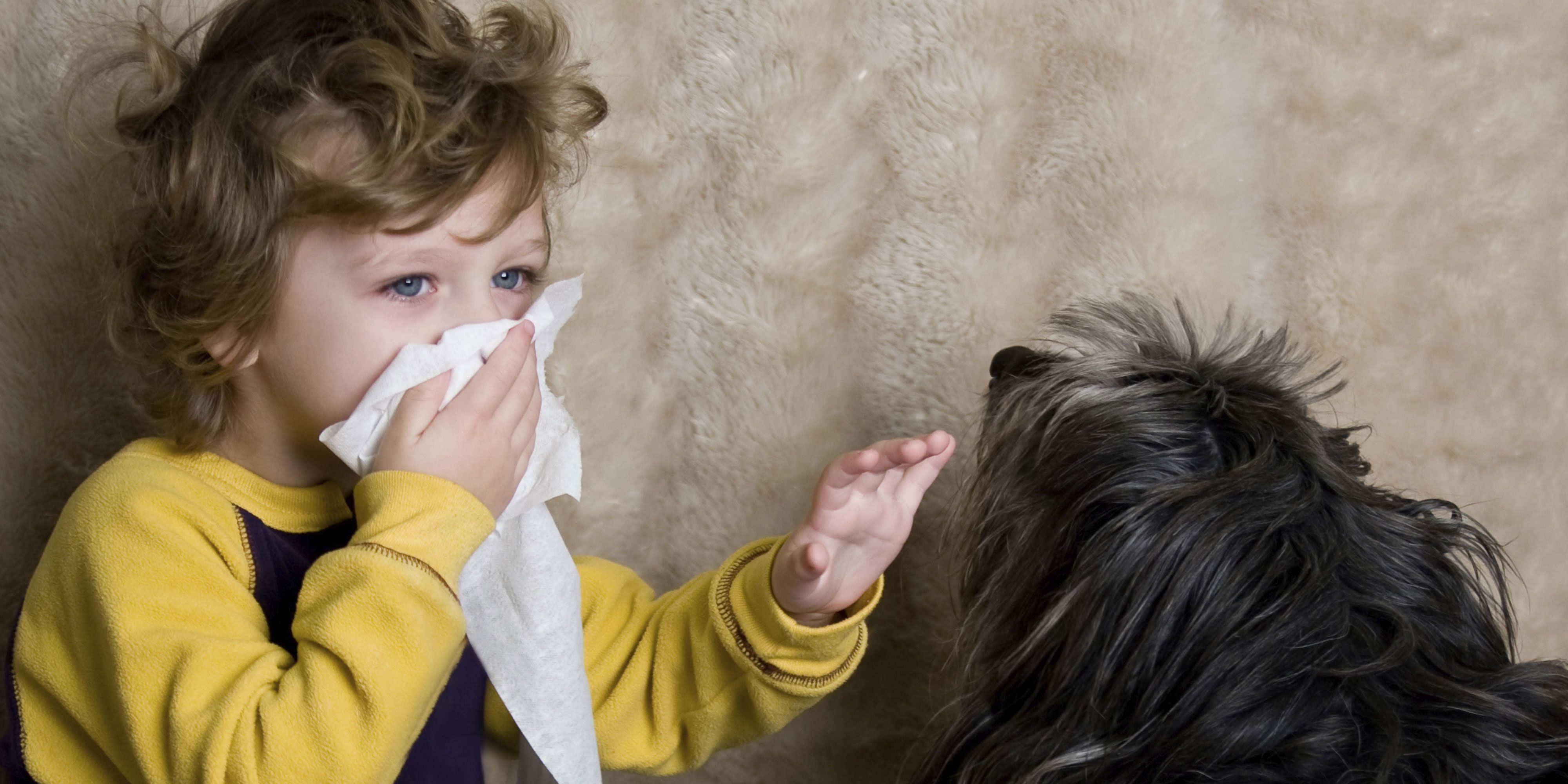 What is dangerous allergy in a child?