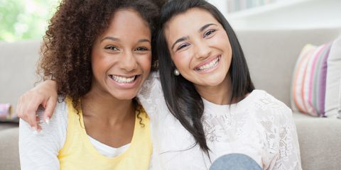 Hair, Smile, Lip, Hairstyle, Skin, Forehead, Eyebrow, Jheri curl, Tooth, Happy,