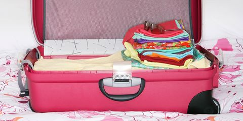 Textile, Red, Pink, Linens, Bag, Home accessories, Clothes hanger, Baggage, Bedding, Curtain,