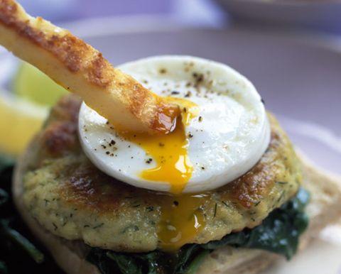 Food, Ingredient, Finger food, Cuisine, Dish, Egg yolk, Fried egg, Breakfast, Egg white, Recipe,