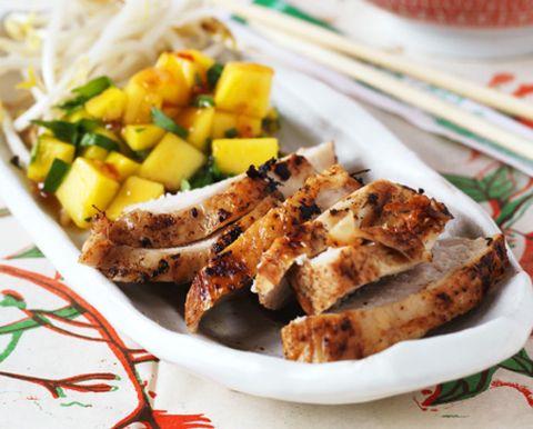 Food, Cuisine, Dishware, Tableware, Dish, Plate, Ingredient, Meat, Recipe, Kitchen utensil,