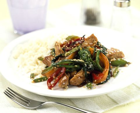 Food, Dishware, Ingredient, Cuisine, Tableware, Steamed rice, Produce, Recipe, White rice, Dish,