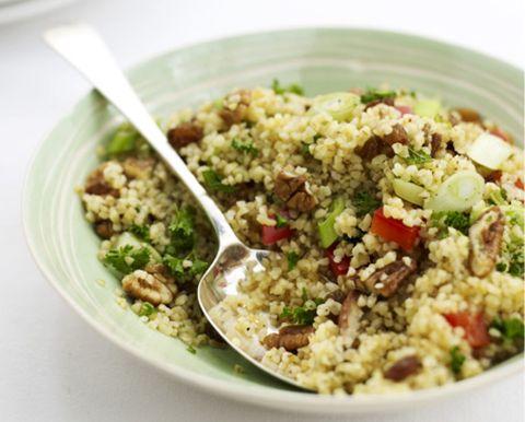 Food, Cuisine, White, Vegetable, Leaf vegetable, Recipe, Tableware, Salad, Ingredient, Dishware,