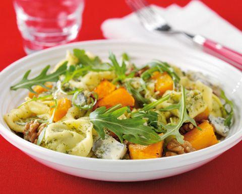 Wild rocket and squash salad