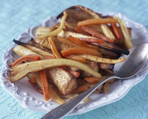 Food, Cuisine, Ingredient, Tableware, Root vegetable, Fast food, Dish, French fries, Serveware, Recipe,