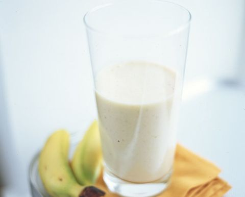 Food, Ingredient, Liquid, Drink, Fruit, Dairy, Banana family, Serveware, Drinkware, Banana,
