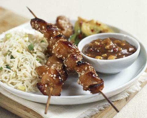 Food, Finger food, Brochette, Cuisine, Dish, Ingredient, Skewer, Pincho, Recipe, Serveware,